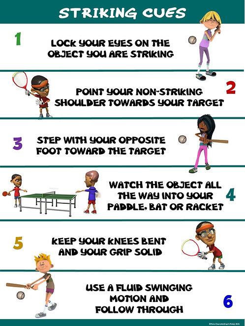 PE Poster: Striking Cues