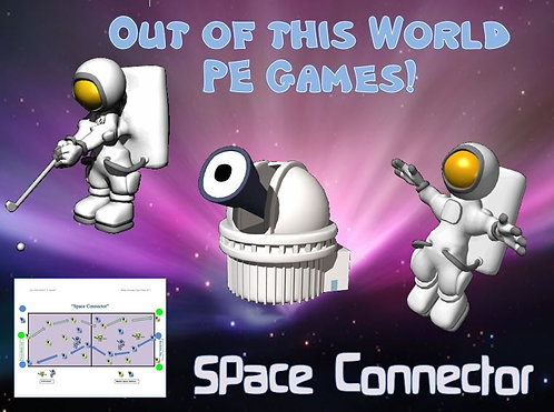 """Out of this World PE Games!- """"Space Connector"""""""