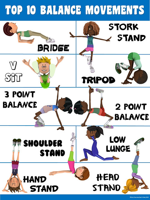 PE Poster: Top 10 Balance Movements
