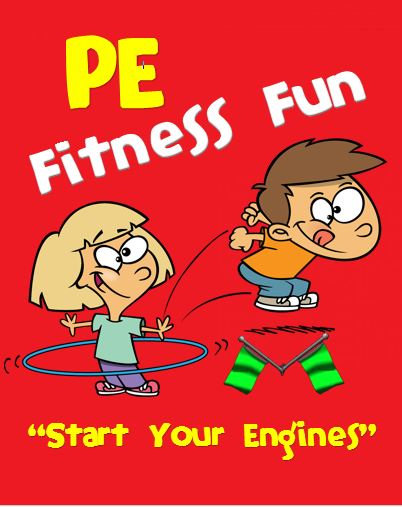 "PE Fitness Fun- ""Start your Engines"""