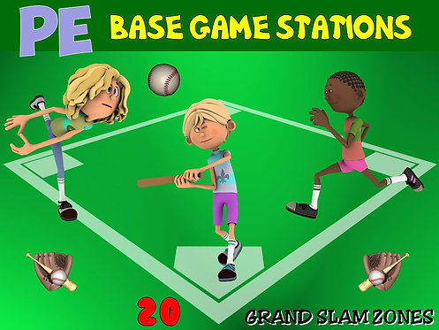 "PE Base Game Stations- 20 ""Grand Slam"" Zones"