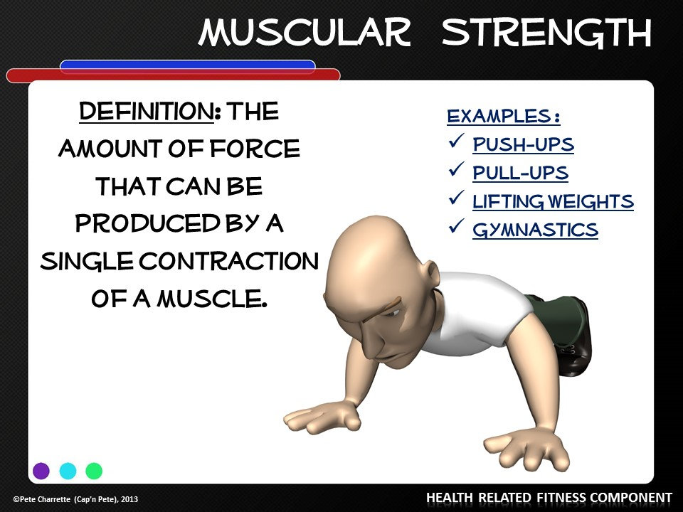 Key Components of Physical Fitness- Printable Display ...