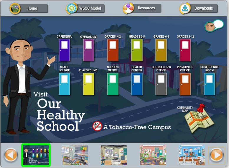 Virtual Healthy School (VHS)