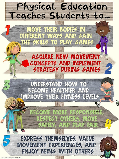 POINTING OUT PE- Physical Education Teaches Students to…