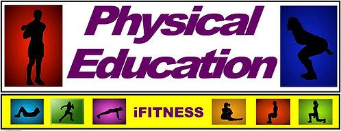 PE Over the Door Banner (Upper Grades): iFITNESS