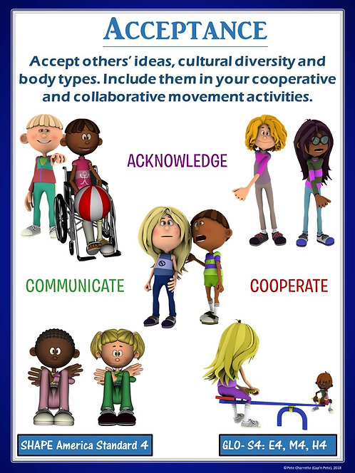 PE Poster: Diversity and Inclusion in Physical Education- Acceptance