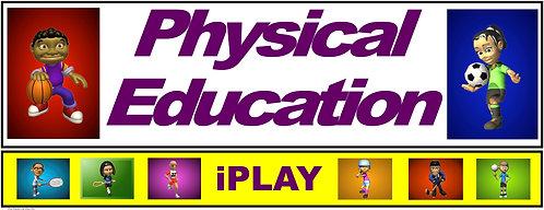 PE Over the Door Banner (Lower Grades): iPLAY