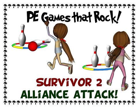 """PE Games that Rock! - """"Survivor 2; Alliance Attack"""""""
