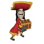 Pirate Treasure Graphic