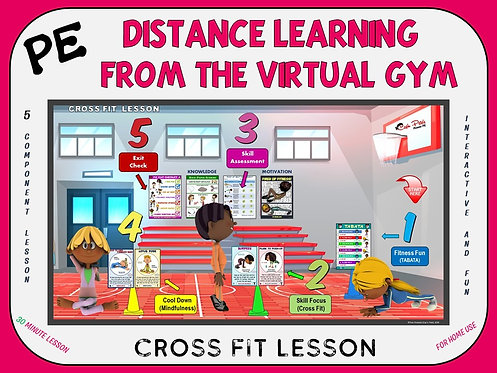 PE Distance Learning from the Virtual Gym- Cross Fit Lesson