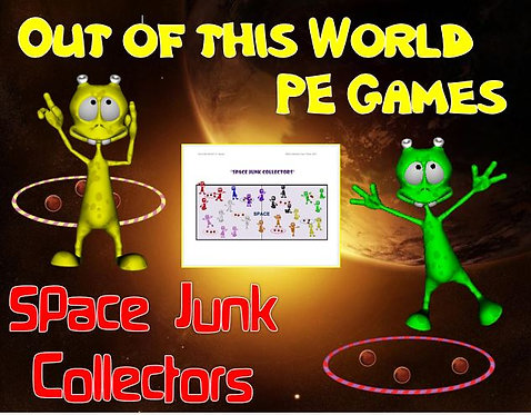 """Out of this World PE Games! - """"Space Junk Collectors"""""""