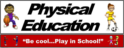 PE Over the Door Banner (Lower Grades): Be Cool...Play in School