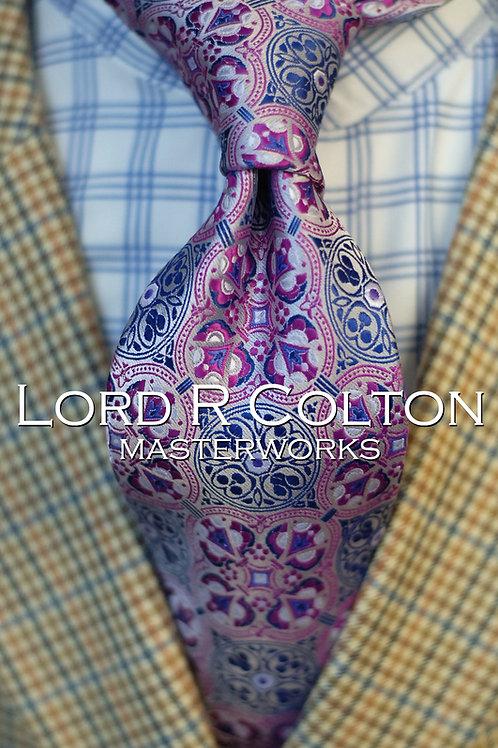 Lord R Colton Masterworks Tangier Stone Woven Necktie
