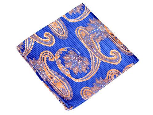 Lord R Colton Woven Silk Pocket Square