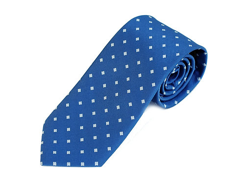 Lord R Colton Studio Royal Blue Box Woven Necktie
