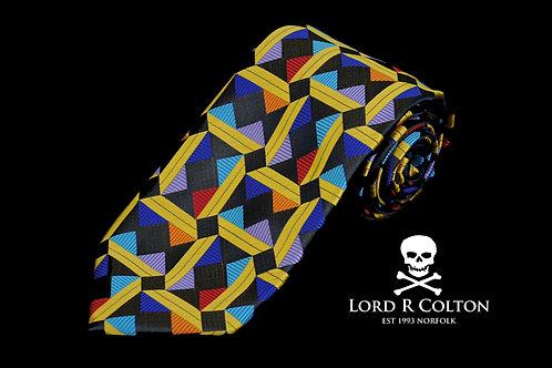 Lord R Colton Masterworks Taormina Bark Woven Necktie