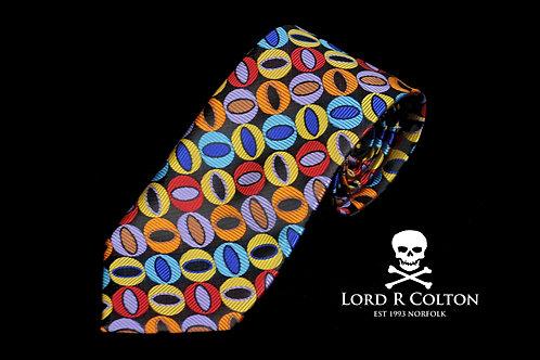 Lord R Colton Masterworks Naples Bark Woven Necktie
