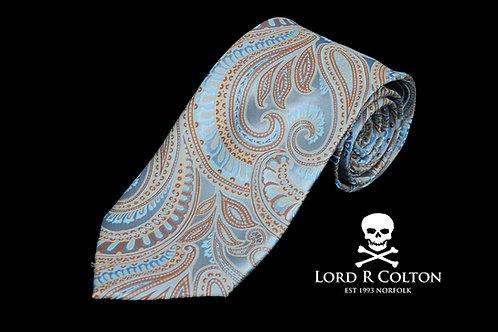 Lord R Colton Masterworks Bolzano Glacier Woven Necktie