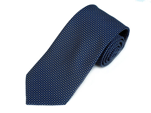 Lord R Colton Studio Navy White Dot Necktie