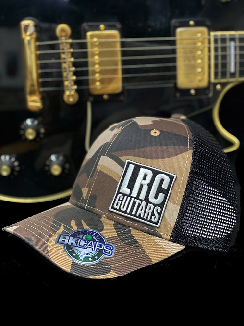 LRC Guitars Block Logo Camo Trucker Snapback Hat