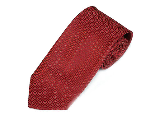 Lord R Colton Studio Crimson Dobby Woven Necktie