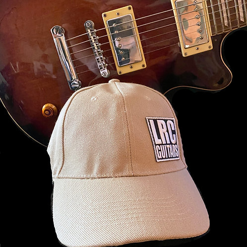 LRC Guitars Block Logo Florida Sand Beige Dad Hat