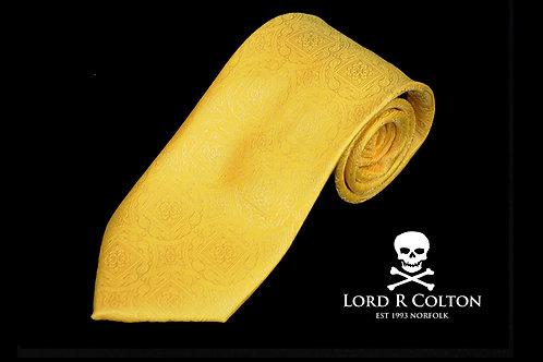Lord R Colton Masterworks Bergamo Alta Sun Yellow Necktie