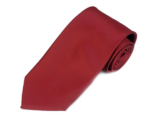 Lord R Colton Studio Garnet Dobby Woven Necktie