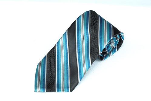 Lord R Colton Studio Black Turquoise Necktie