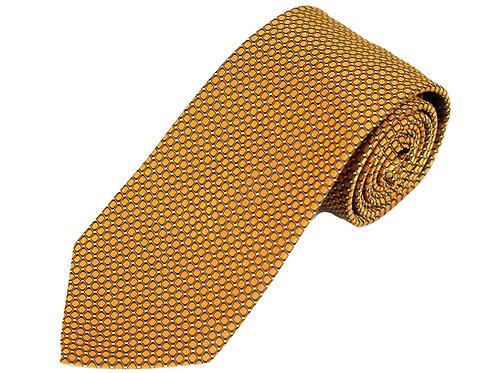 Lord R Colton Studio Copper Dobby Woven Necktie
