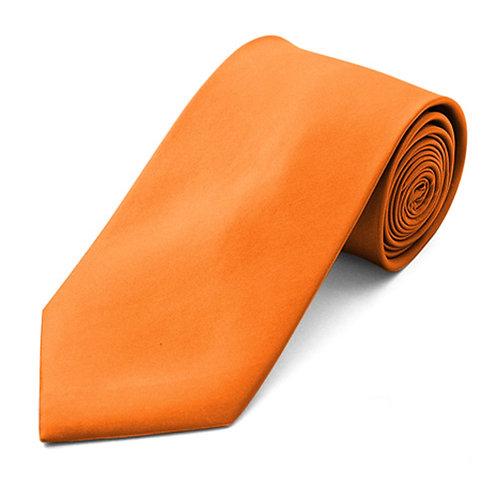 Lord R Colton Key West Orange Silk Necktie