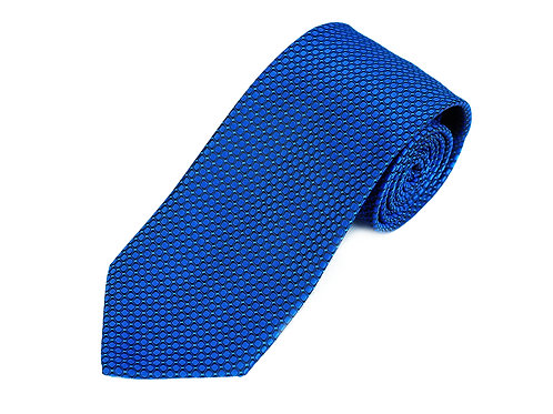 Lord R Colton Sapphire Blue Dobby Woven Necktie