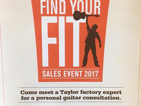 Go to R & R Guitars on Saturday