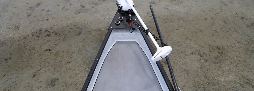 Forward Casting Deck with Trolling Motor Option