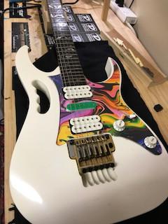 Steve Vai Visits LRC Guitars