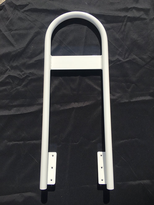 Grab Bar Fixed Powder Coated White