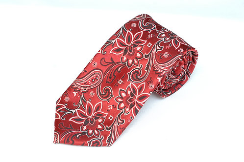 Lord R Colton Masterworks Charleston Red Necktie