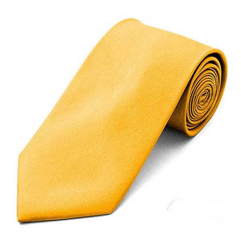 Lord R Colton Golden Yellow Satin Silk Necktie