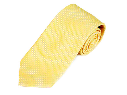 Lord R Colton Studio Yellow Sky Blue Woven Necktie