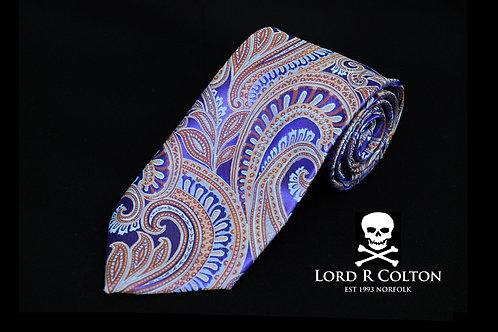 Lord R Colton Masterworks Bolzano Amethyst Woven Necktie