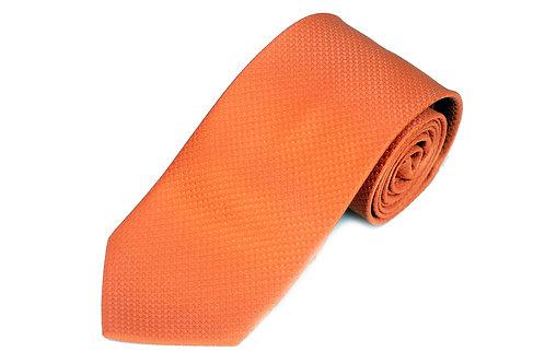 Lord R Colton Studio Key West Orange Dobby Necktie