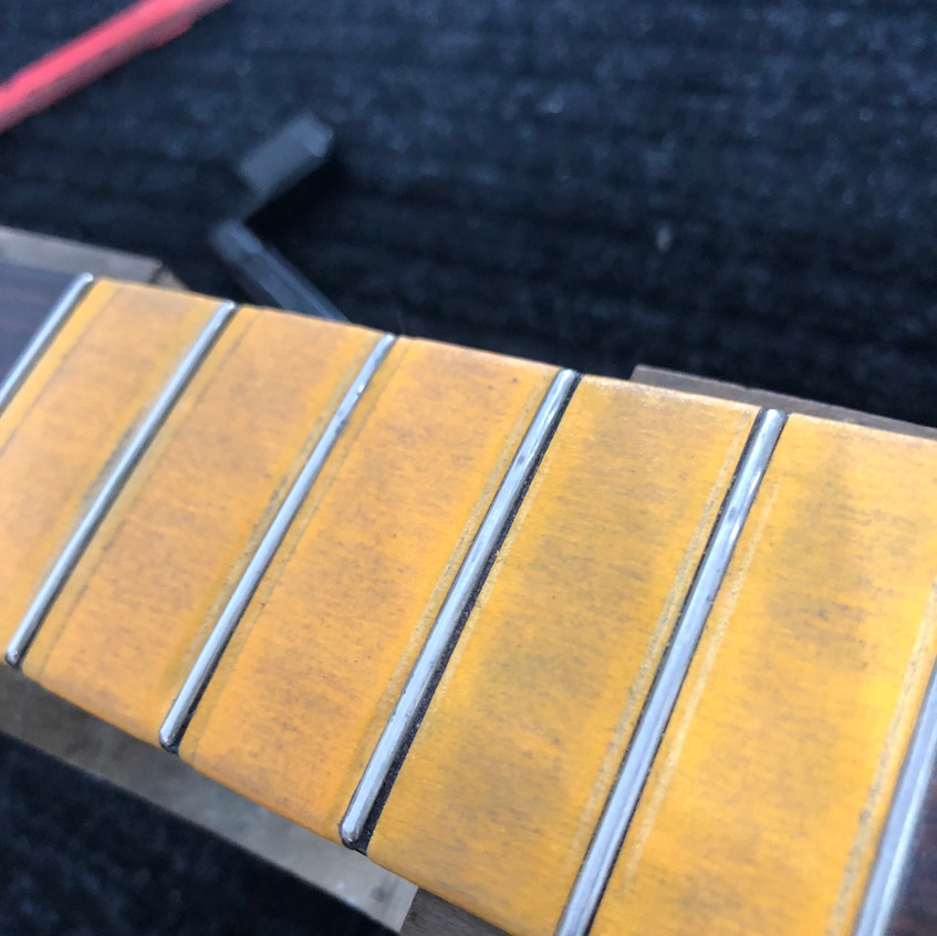 Frets Crowned & Dressed