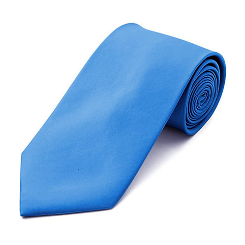 Lord R Colton French Blue Satin Silk Necktie