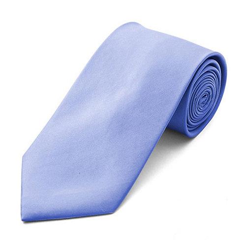 Lord R Colton Presidential Blue Satin Silk Necktie
