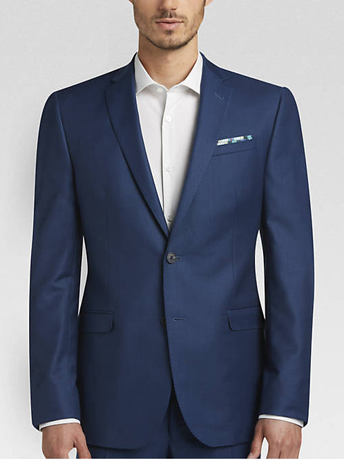 Lord R Colton Navy Blue Hampshire Glenn Super 150 Wool Suit