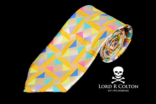 Lord R Colton Masterworks Taormina Pearl Woven Necktie