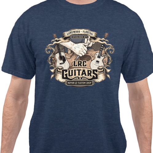 LRC Guitars Vintage Luthier Tee