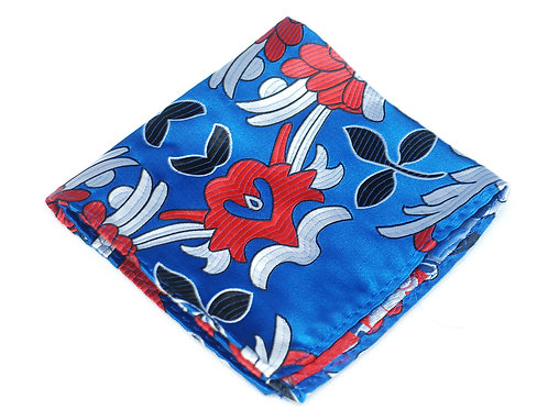 Lord R Colton Woven Silk Pocket Square