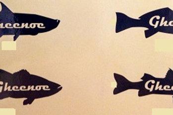 Gheenoe Fish Sticker