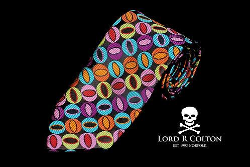 Lord R Colton Masterworks Naples Black Woven Necktie